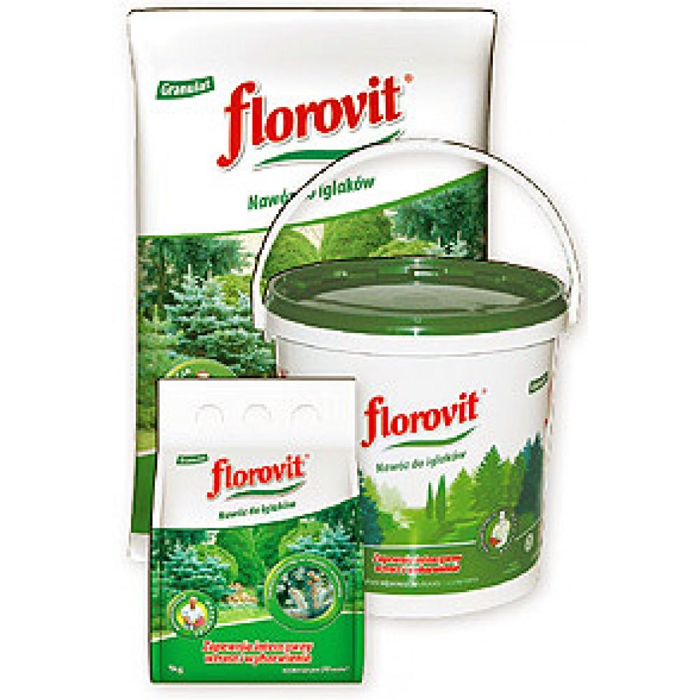 Ingrasamant specializat granulat Florovit pentru conifere 1kg