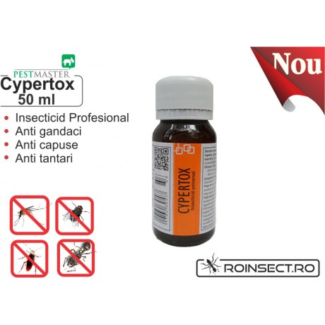 Insecticid universal - Cypertox 50 ml