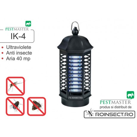 Aparat anti insecte cu lampa UV - Pestmaster IK4 (acopera aprox. 40 mp)