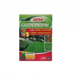 Fertilizant peluza + erbicid NPK 9-3-6 DCM( 1.5kg)