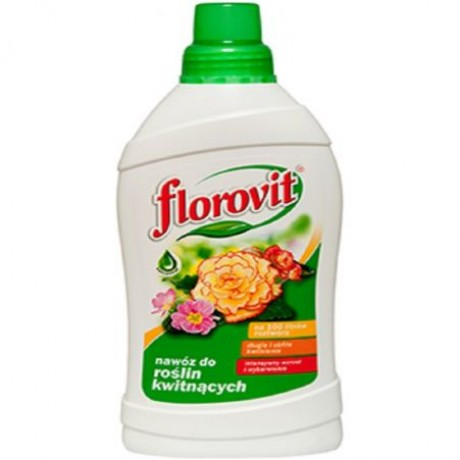 Florovit ingrasamant specializat lichid pentru plante cu flori 0.55L