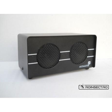 Pestmaster Transonic PRO - aparat profesional  anti daunatori - soareci, sobolani, dihori, insecte taratoare - 500mp