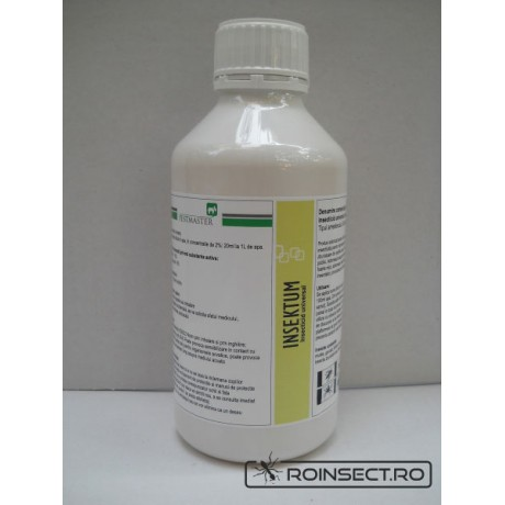 Insecticid universal impotriva insectelor taratoare si zburatoare - Insektum 1L