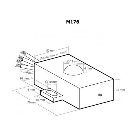 Aparat anti rozatoare auto - Kemo M176