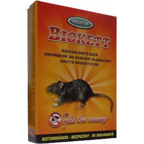 Biokett rodenticid sub forma de boabe de cereale impregnate (400gr.)