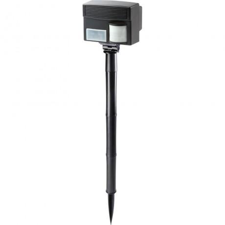 Aparat electronic 60035 cu ultrasunete si senzor PIR pentru alungarea animalelor, caini, pisici, pasari, iepuri, porci mistreti, caprioare, rozatoare 100mp