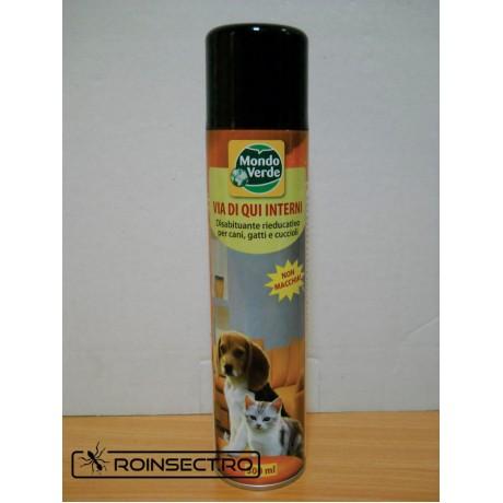 Spray anti caini si pisici pentru uz interior - REP 33