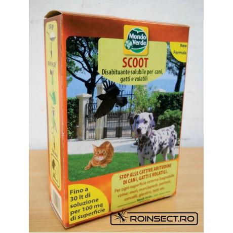 Praf solubil impotriva animalelor - anti caini, pisici - REP 01