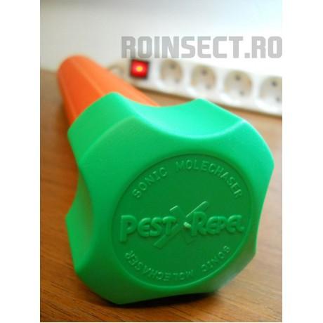 Dispozitiv pentru combaterea rozatoarelor subterane, jder, dihor, sobolan de camp KR-7 (acopera 800 mp)