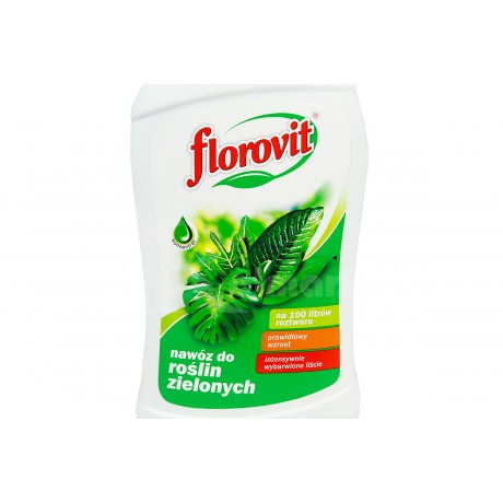 Florovit ingrasamant specializat lichid pentru plante verzi 0.25L