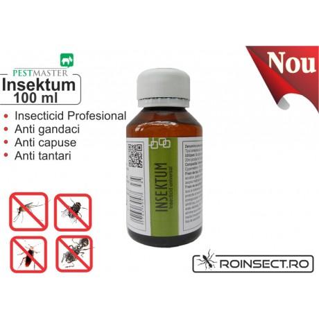 Insecticid universal - Insektum 100 ml (solutie anti gandaci)
