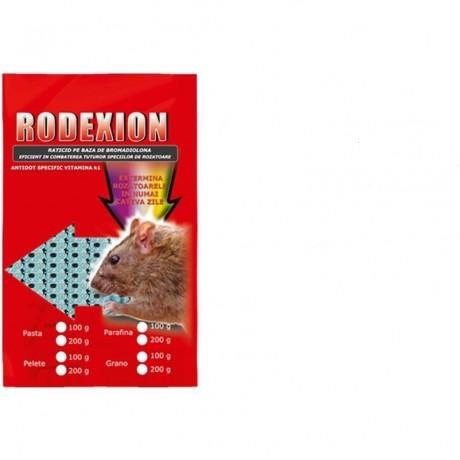Momeala raticida micropelete pentru combatere rozatoare Rodexion 200gr