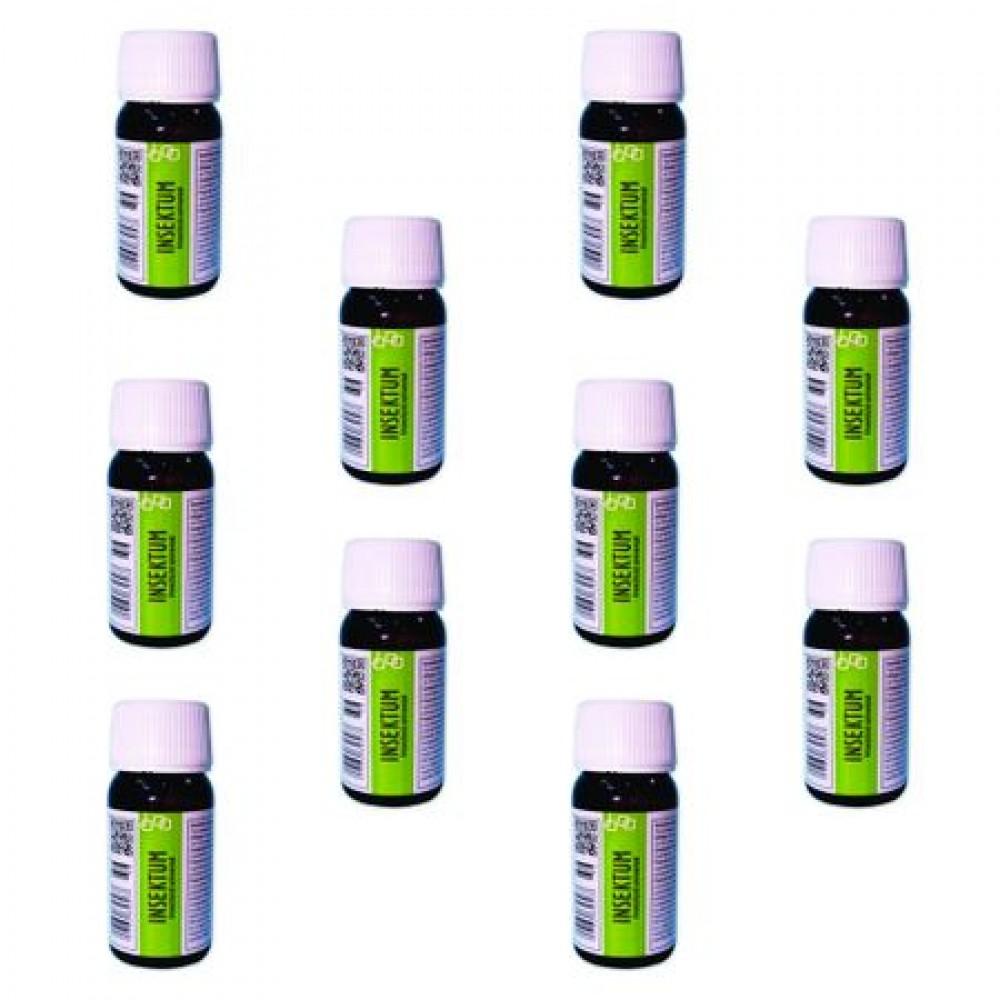Oferta! Pachet solutie insecticida profesionala, formula concentrata, Pestmaster INSEKTUM 50ml x 10buc.