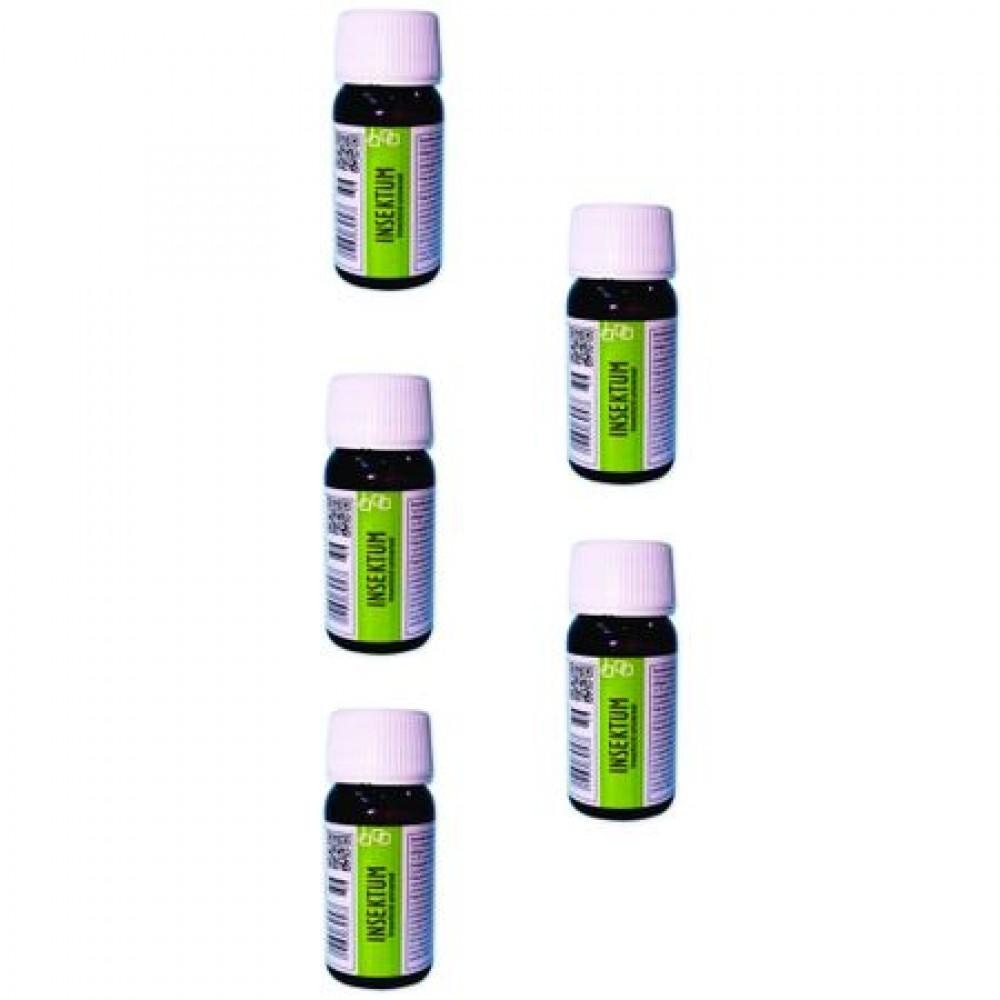 Oferta! Pachet solutie insecticida profesionala, formula concentrata, Pestmaster INSEKTUM 50ml x 5buc.