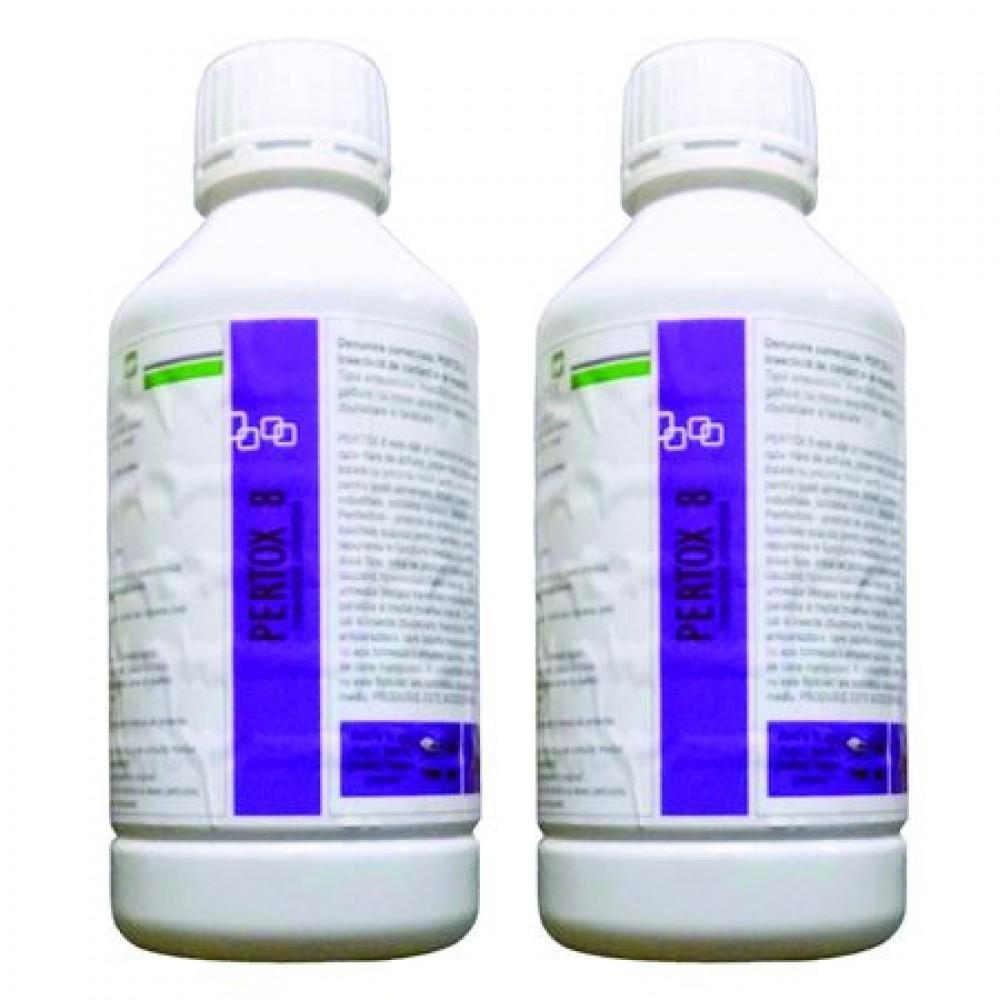 Oferta! Set insecticid universal Pestmaster PERTOX 8 1l x 2buc.