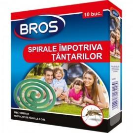 Spirale impotriva tantarilor (efect imediat) Bros, 10buc.