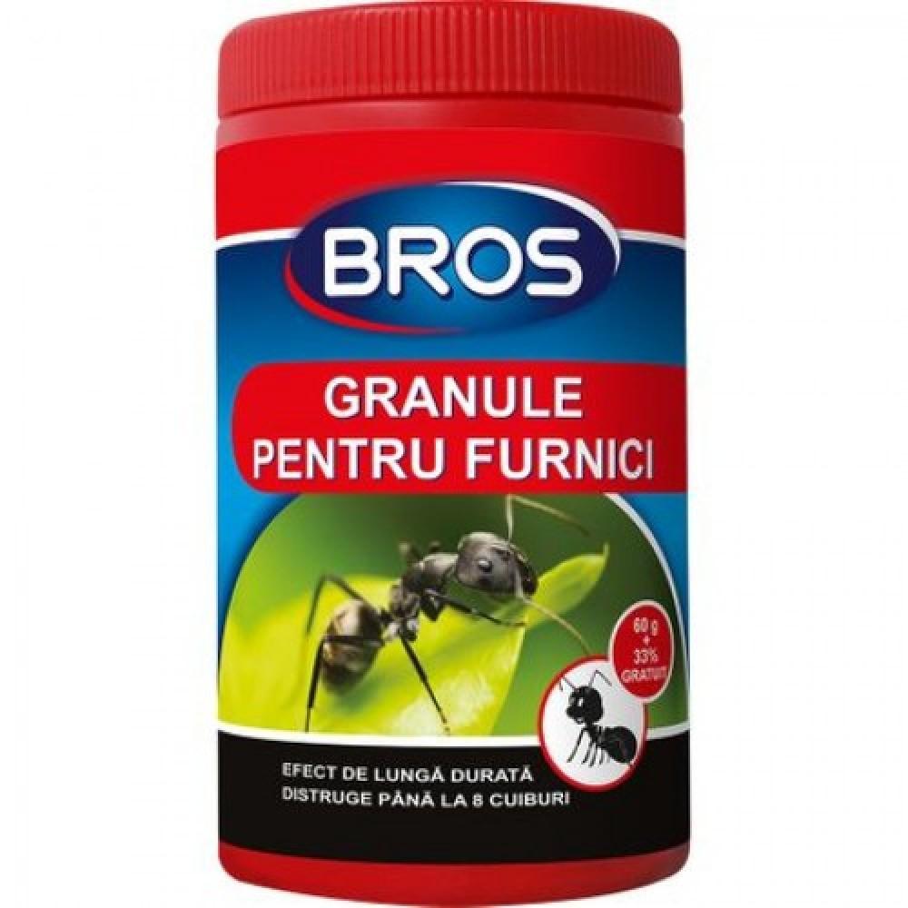 Granule pentru furnici, Bros, 60gr. (008)