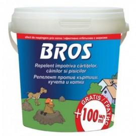 Repelent impotriva cartitelor, cainilor si pisicilor, Bros, 450ml. (027)