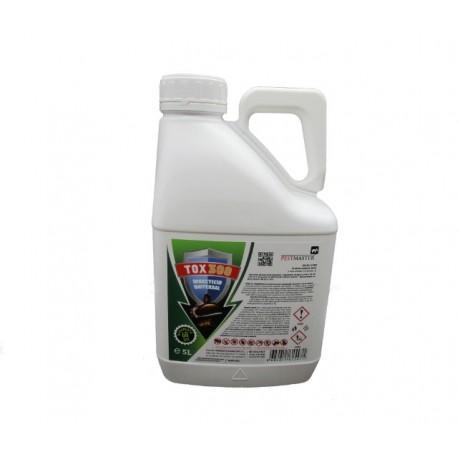 TOX 300, insecticid concentrat, universal, combate insectele taratoare si zburatoare, 5l