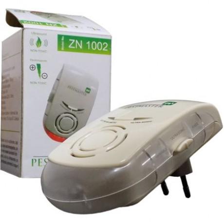 Aparat cu ultrasunete si unde electromagnetice impotriva soarecilor, rozatoarelor si insectelor taratoare- Pestmaster ZN1002 - 150 mp