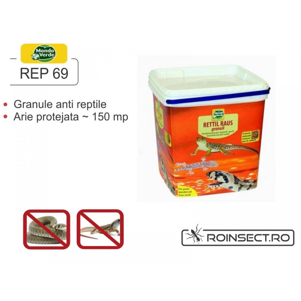 Granule anti reptile: serpi, soparle, gustere (4 000 ml) - REP 69