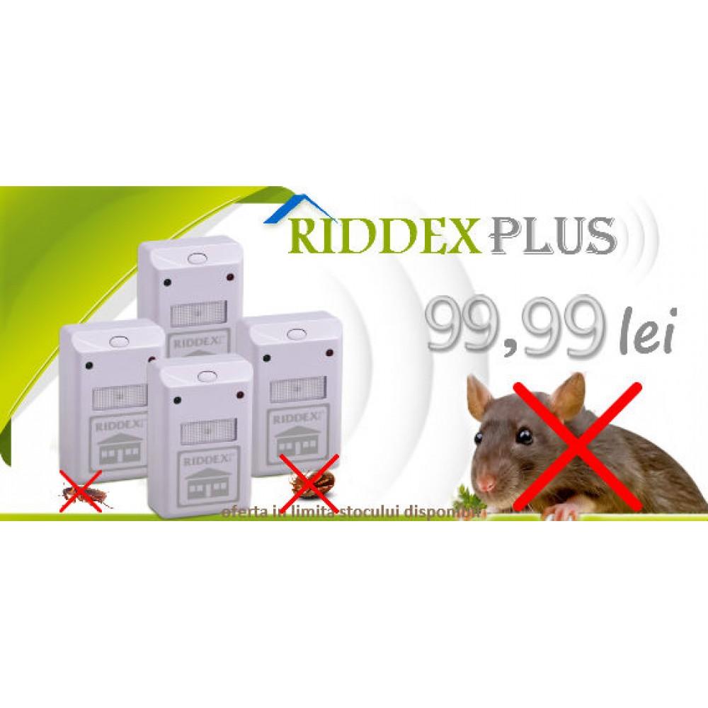 Aparat cu unde electromagnetice Riddex Plus 4 bucati la  99,99 ron cu TVA