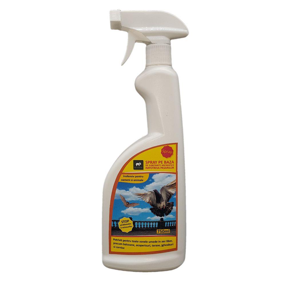 Spray pe baza de subsante aromatice impotriva pasarilor 750 ml