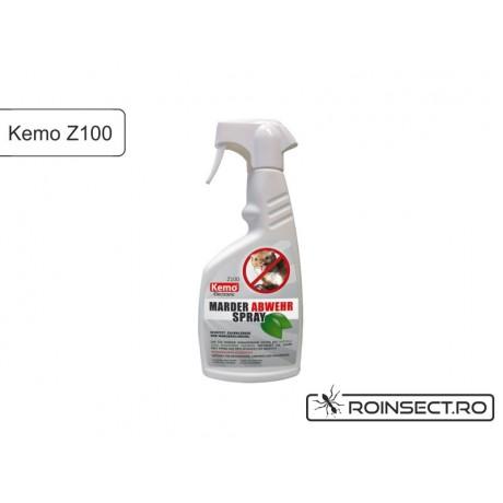 Spray anti rozatoare, soareci, sobolani, jderi pentru protectia autoturismului - Z100