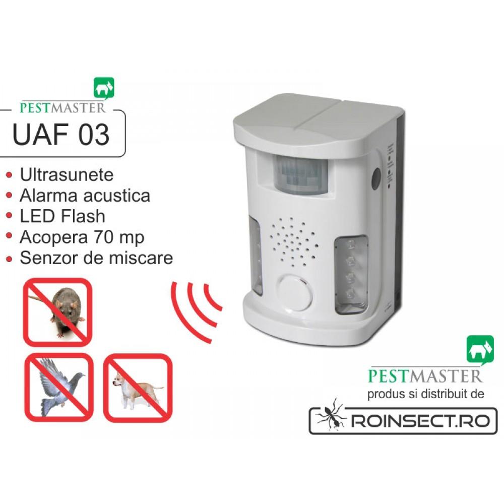 Bird Ultrasound Repeller Pestmaster UAF03 (anti pasari, anti rozatoare, anti animale)