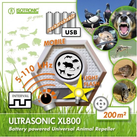 Aparat anti daunatori Ultrasonic XL800