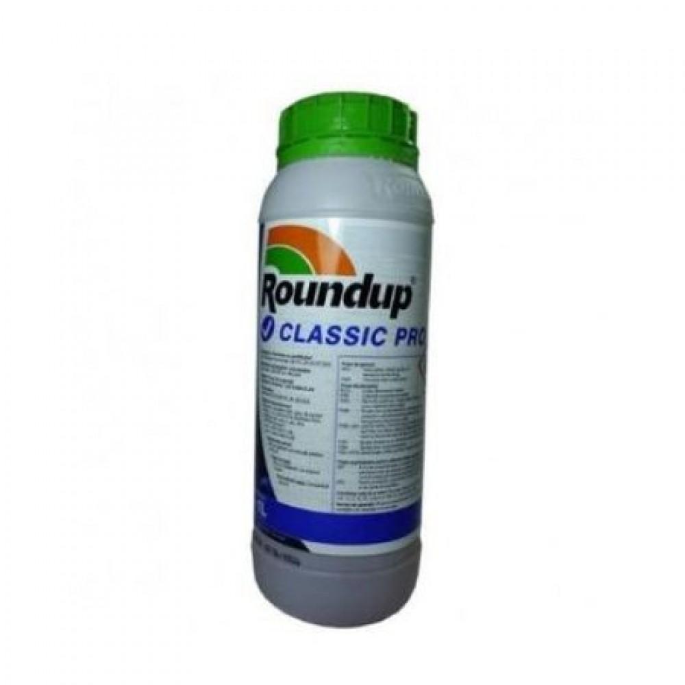 Erbicid total Roundup Classic Pro 1l